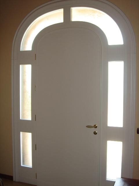 portone d ingresso porta ingresso in massello laccato bianco
